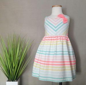 Gymboree Neon Striped Dress